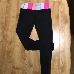 Lululemon Skinny Reversible Groove Leggings